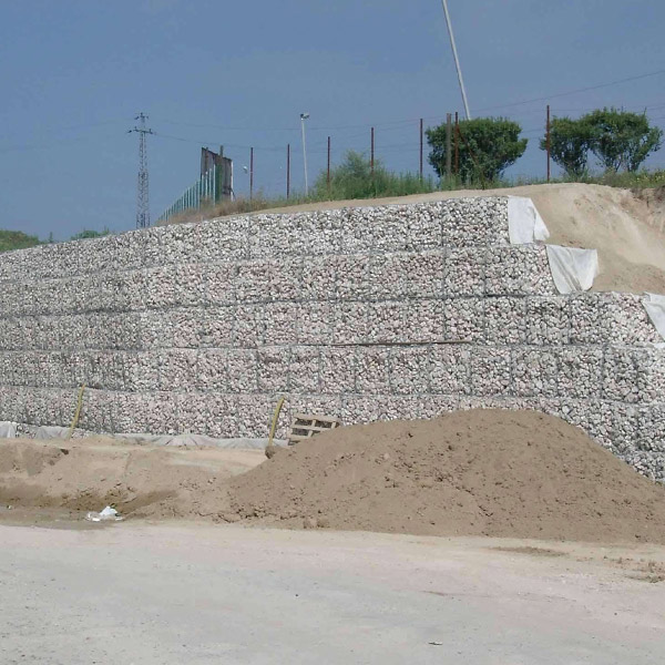 Road With Gabion
