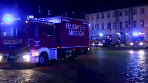 Ansbach, Germany explosion triggered by 27-year-old asylum seeker
