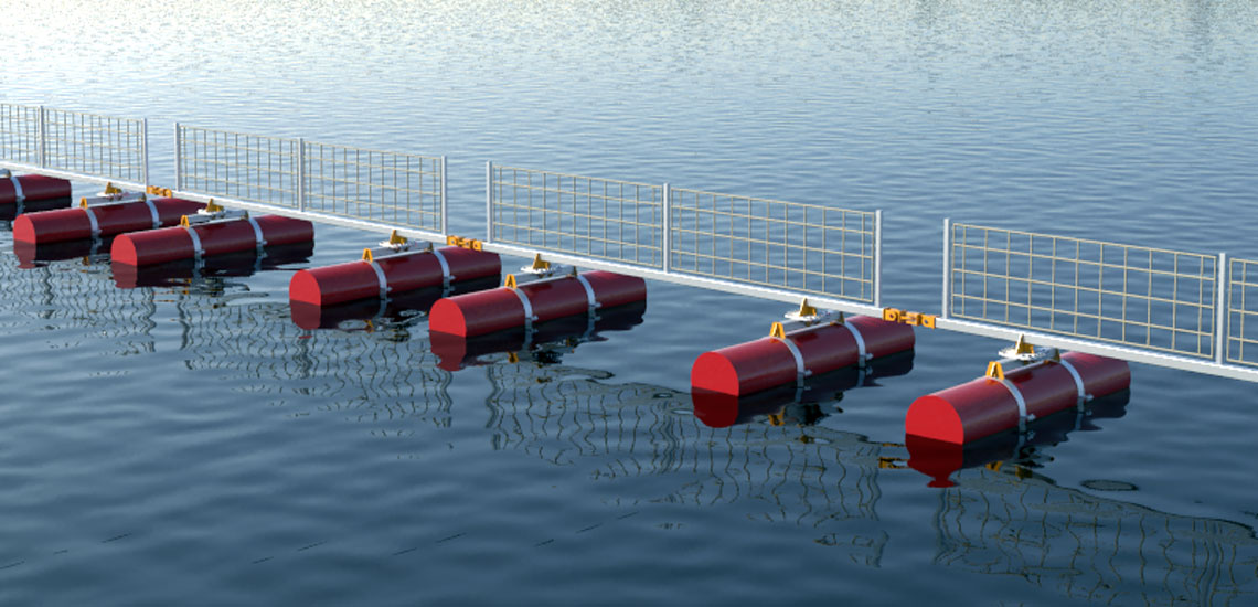 Marine Floating Barrier