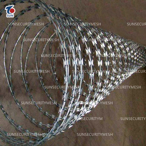 Aluminum-clad Steel Razor Barbed Wire