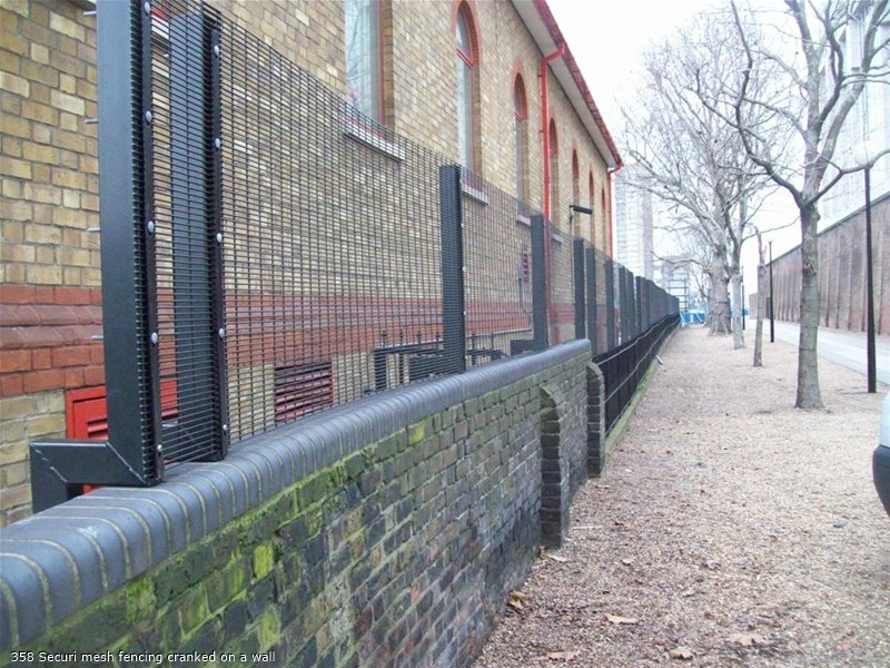 Introduction of 358 anti-climb fence