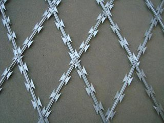 Welded Razor Wire Mesh Gives A Premium Protection.3