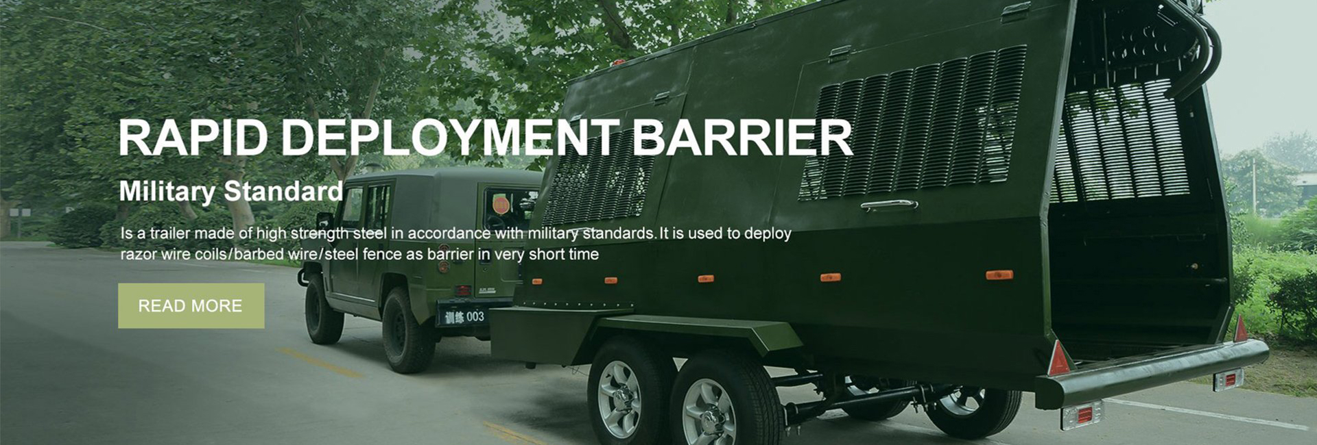 Fully Automatic Barrier Truck