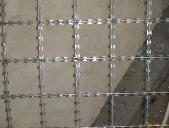 "Welded Razor Wire Mesh——the ""Diamond"" in Wire Fence"