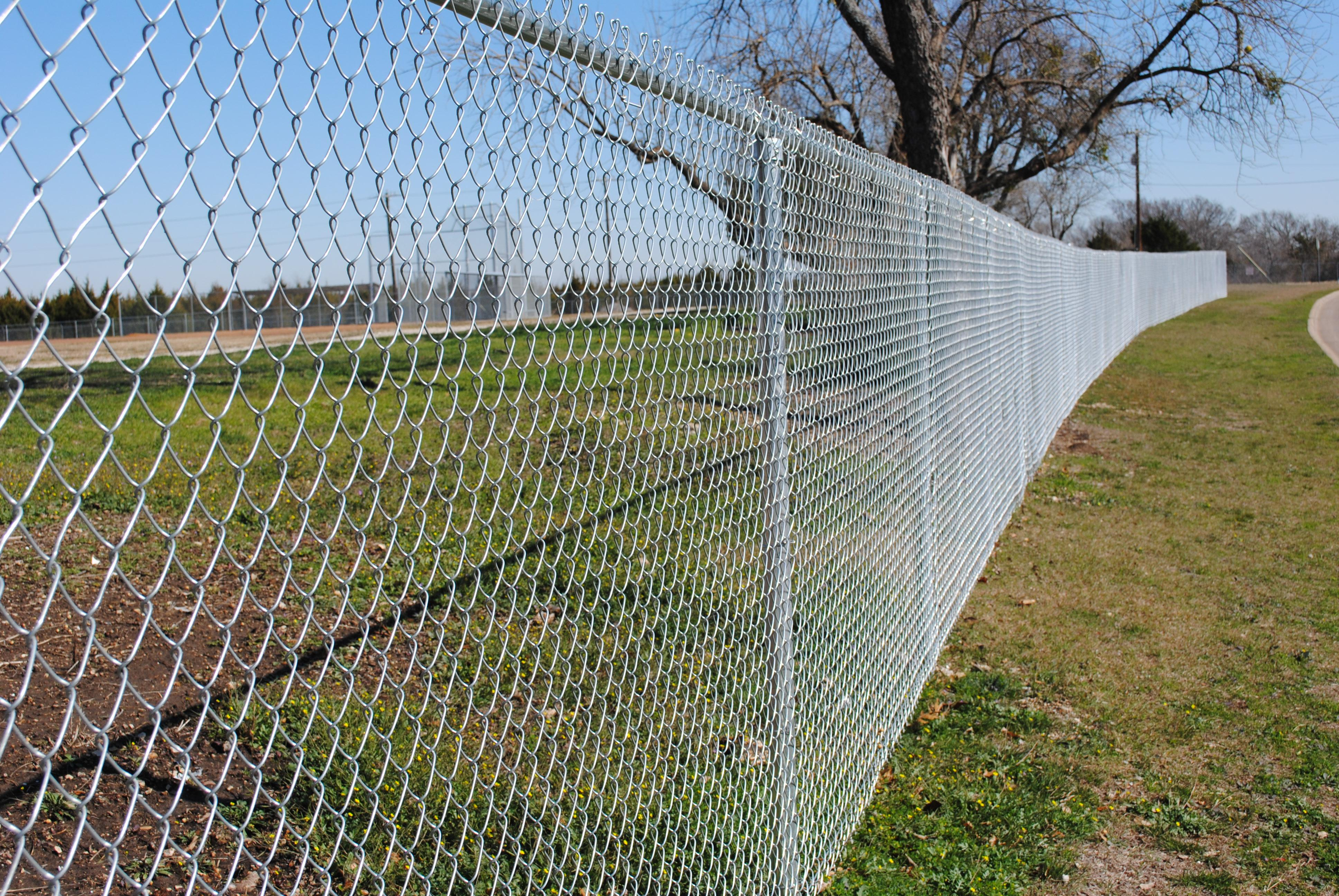 The Majority of Ordinary Soldiers in the Fence--Chain Link Fence