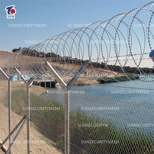 Razor wire Physical Barriers
